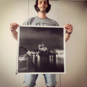 formations tirage photo couleur noir et blanc